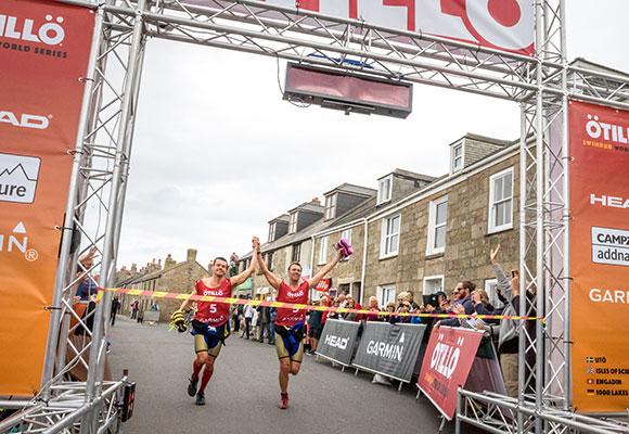 優勝チームはイギリスのトライアスリート。記録は5時間2分。
