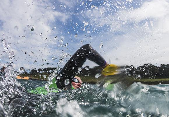 スイムトレーナーなど、泳ぎが強い選手が集まる。