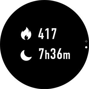 センサーでカラダの細かい動きを感知して、通勤時などの歩数や消費カロリーなどを測定してくれる。つけて眠ると睡眠時間もわかる。