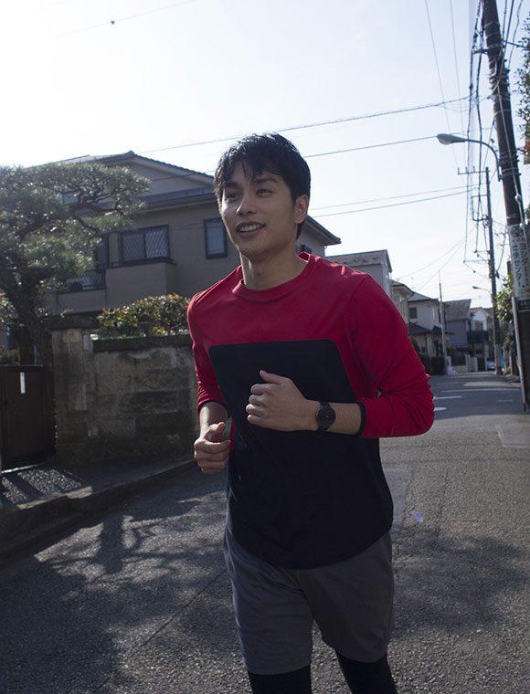 「ジムのトレッドミルでずっと一定ペースで走るより、心拍数を測りながら起伏のある道を自由に走った方が楽しい」