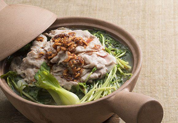 豚肉の中華風草鍋