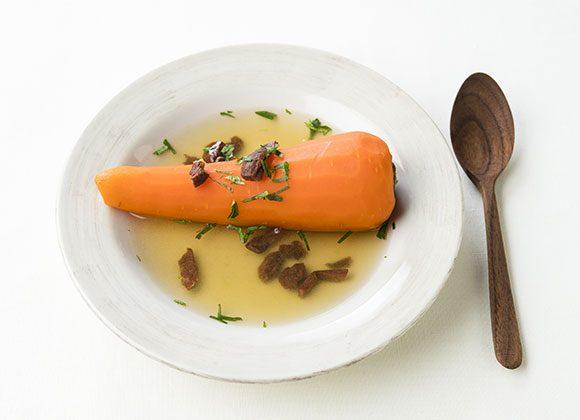 ニンジンの丸ごとスープ