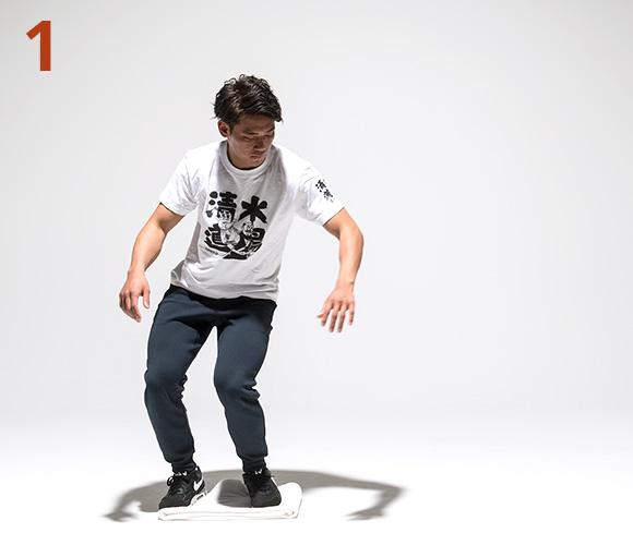 タオル・スケートボード1