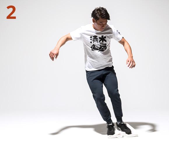 タオル・スケートボード2