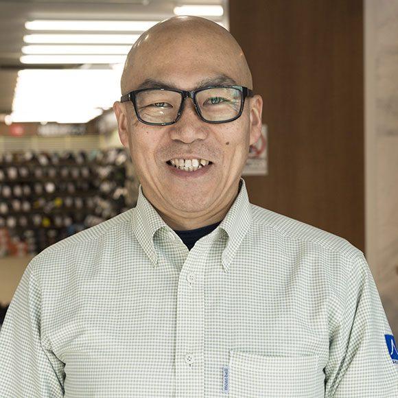さかいやスポーツ シューズ館 営業係長・斎藤勇一さん