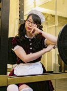 日本初! メイドさんに教わる萌えパーソナルジム。