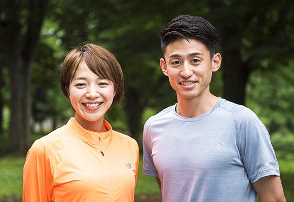 鈴木莉紗さん(左)、三田祐介さん(右)
