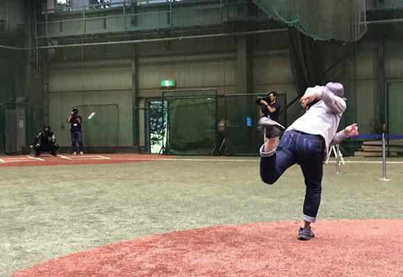 ライター黒田の投球