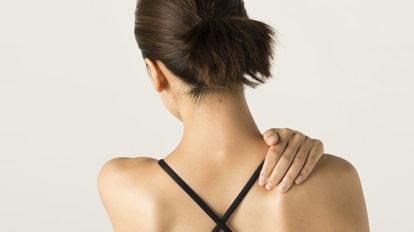 凝り固まった肩をほぐす、気持ちいい〜ツボを紹介。