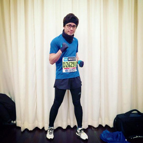東京マラソンゴール後