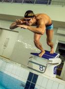 中村 克(競泳選手)インタビュー「自分がメダルを獲って、子供たちに希望を与えたい」