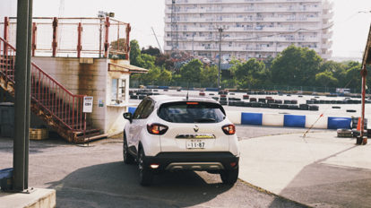 RENAULT CAPTUR drive to シティカート